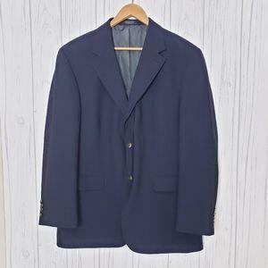Oscar De La Renta Men's Blazer Size 43R Wool Sport